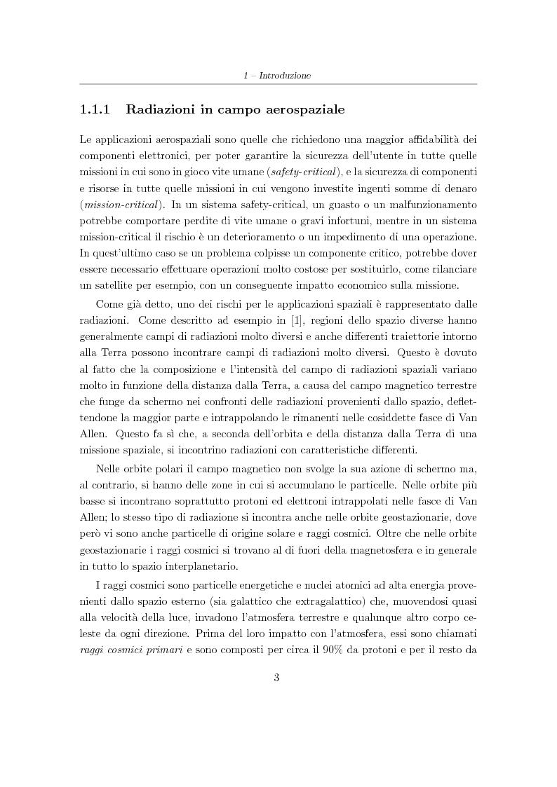 Anteprima della tesi: Progetto e sviluppo di una piattaforma software per l'analisi e l'irrobustimento automatico di circuiti elettronici per applicazioni spaziali, Pagina 3