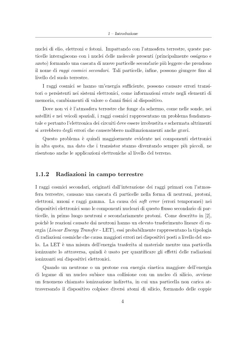 Anteprima della tesi: Progetto e sviluppo di una piattaforma software per l'analisi e l'irrobustimento automatico di circuiti elettronici per applicazioni spaziali, Pagina 4