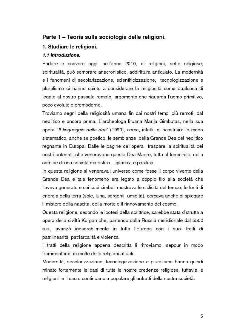 Anteprima della tesi: Jedismo. Sociologia di una religione nata al cinema., Pagina 5
