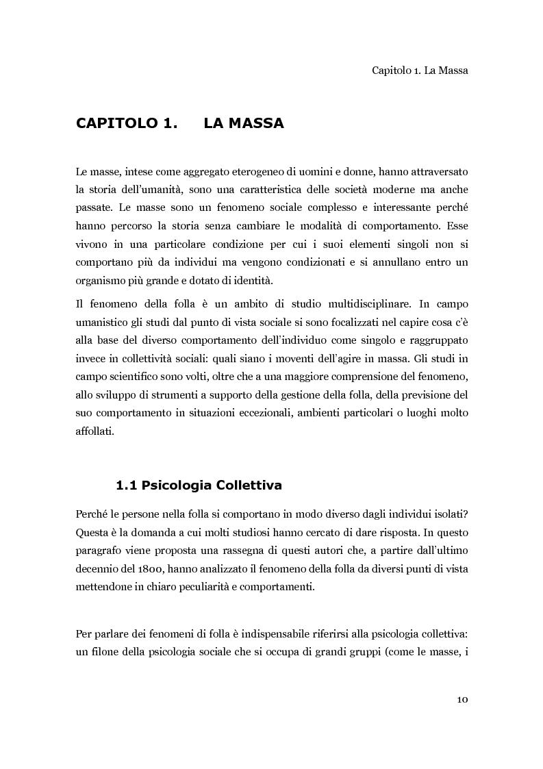 Anteprima della tesi: Una piattaforma ad agenti per la progettazione di concerti in rapporto alle dinamiche del pubblico, Pagina 1