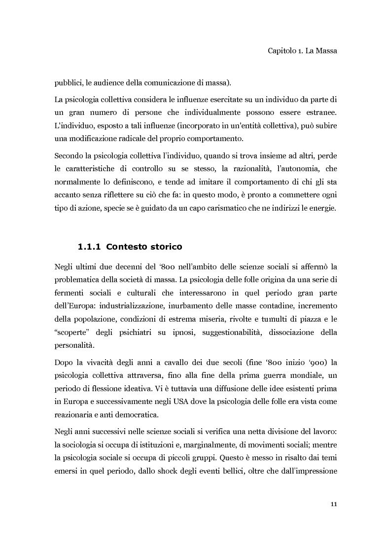 Anteprima della tesi: Una piattaforma ad agenti per la progettazione di concerti in rapporto alle dinamiche del pubblico, Pagina 2