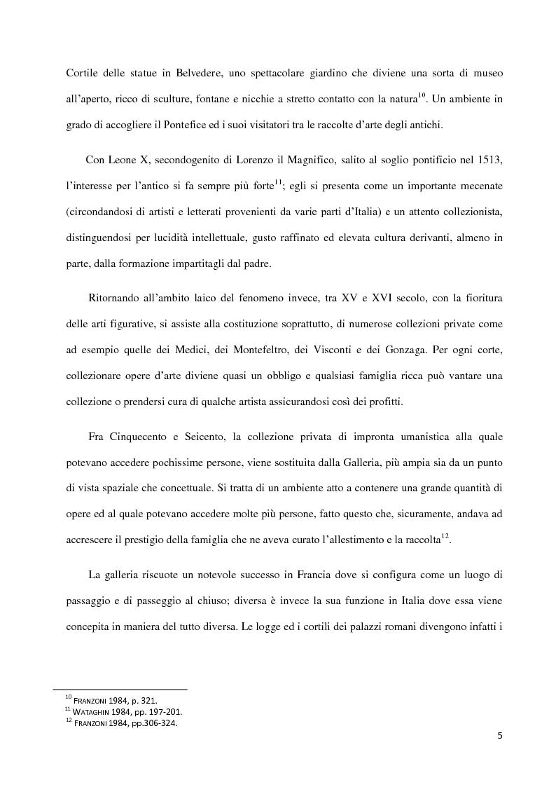 Anteprima della tesi: Dal collezionismo ai ''Tesori Restituiti'', Pagina 5