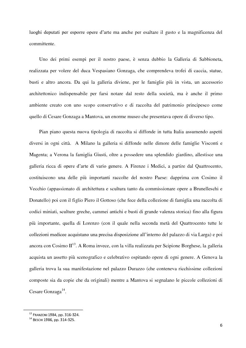 Anteprima della tesi: Dal collezionismo ai ''Tesori Restituiti'', Pagina 6