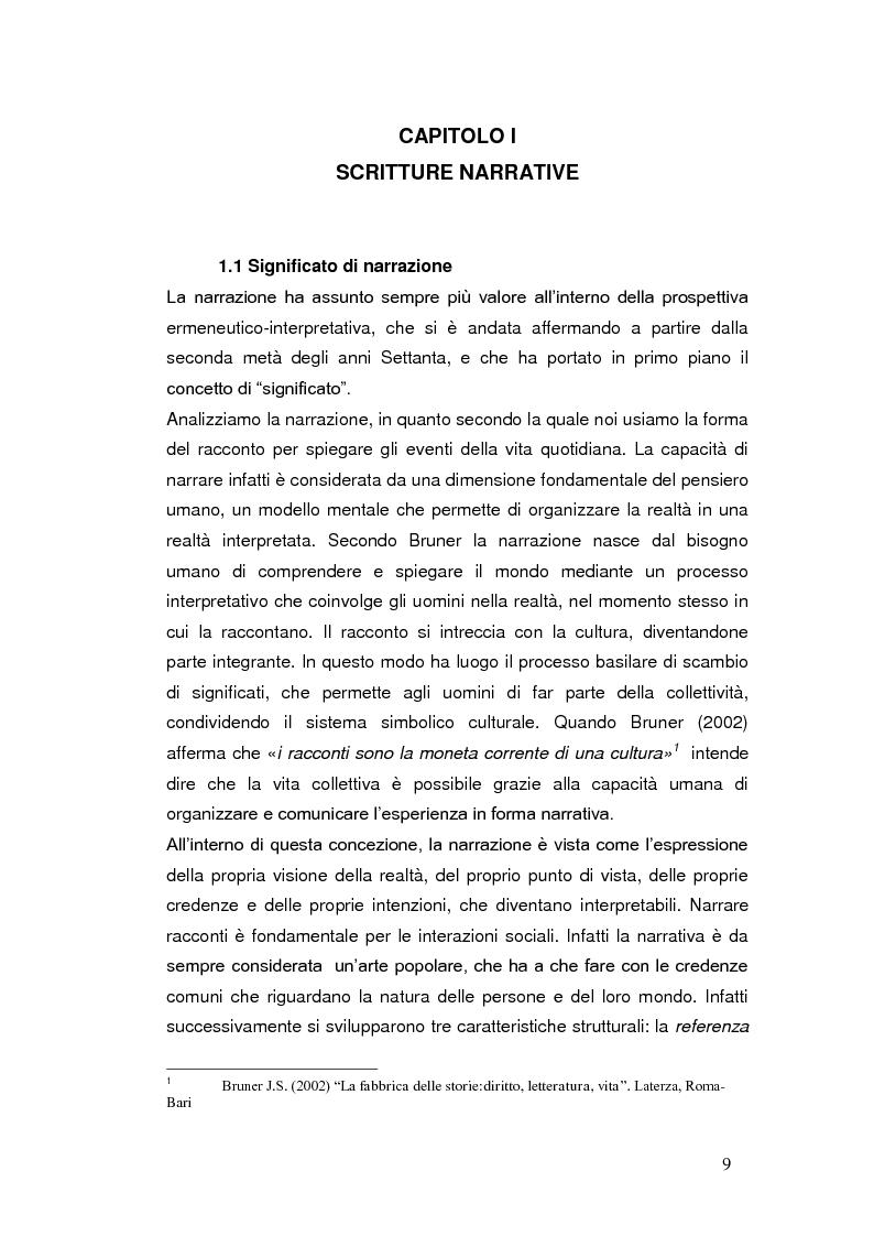 Anteprima della tesi: Autobiografia come progetto identitario, Pagina 6