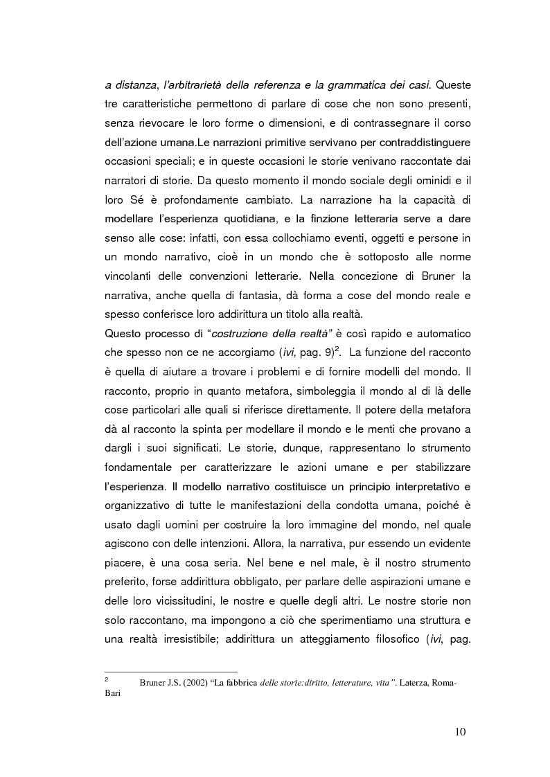 Anteprima della tesi: Autobiografia come progetto identitario, Pagina 7