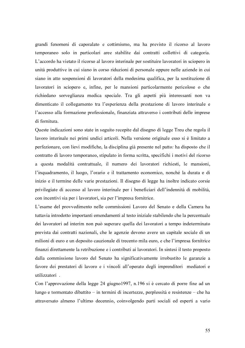 Anteprima della tesi: Quando il lavoro è ''somministrato''. Analisi etnografica presso l'Alai-Cisl di Trento. , Pagina 9