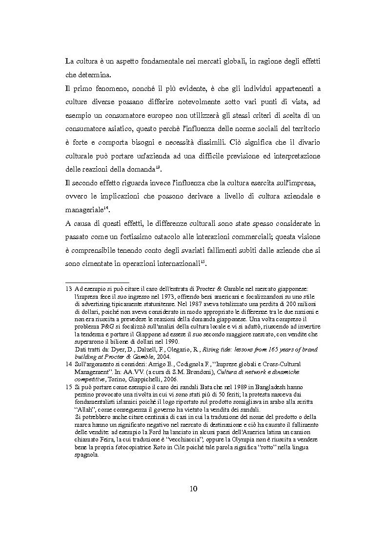 Anteprima della tesi: Culture nazionali e gestione d'impresa: il cross-cultural management, Pagina 6