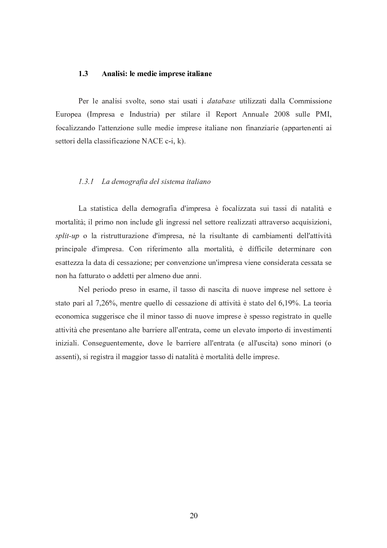 Anteprima della tesi: I finanziamenti bancari alle medie imprese, Pagina 10