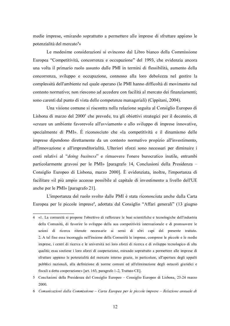 Anteprima della tesi: I finanziamenti bancari alle medie imprese, Pagina 2