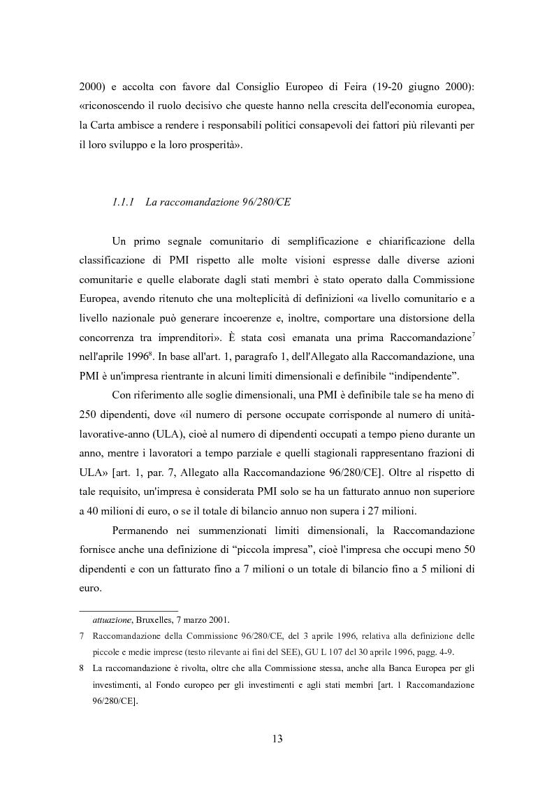 Anteprima della tesi: I finanziamenti bancari alle medie imprese, Pagina 3