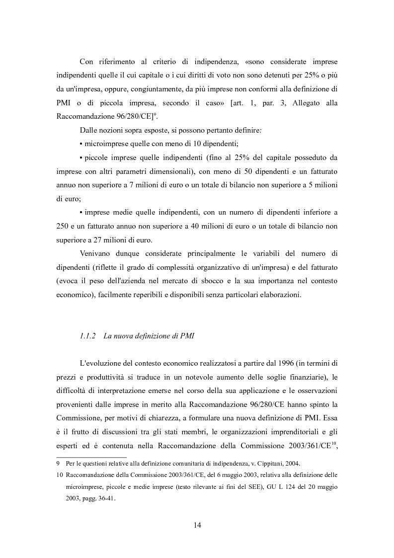 Anteprima della tesi: I finanziamenti bancari alle medie imprese, Pagina 4