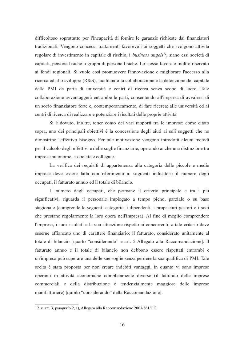 Anteprima della tesi: I finanziamenti bancari alle medie imprese, Pagina 6
