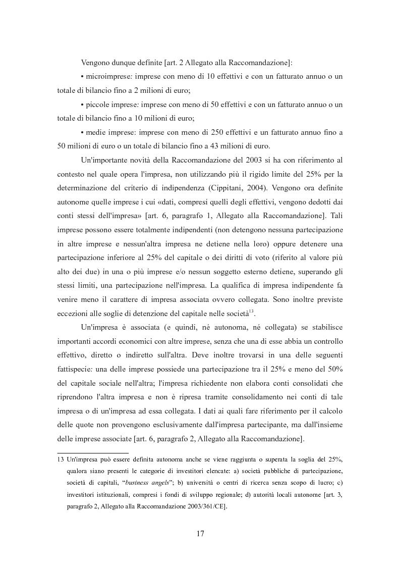 Anteprima della tesi: I finanziamenti bancari alle medie imprese, Pagina 7