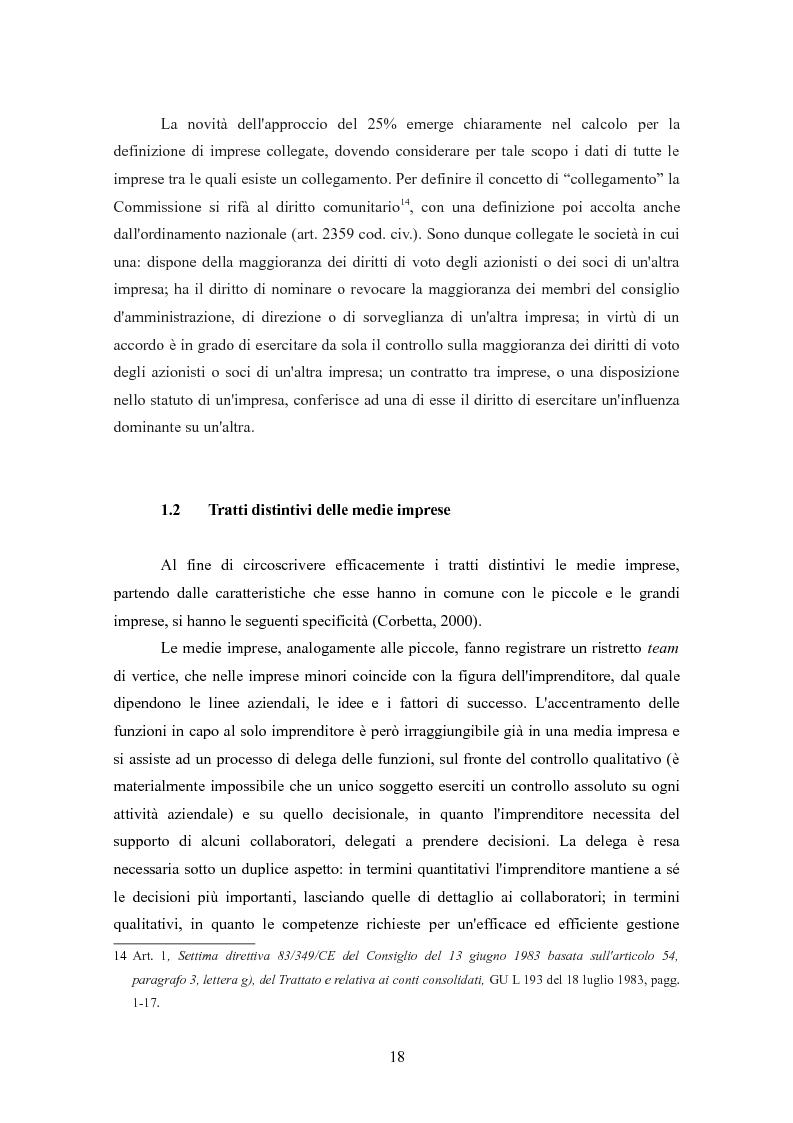 Anteprima della tesi: I finanziamenti bancari alle medie imprese, Pagina 8