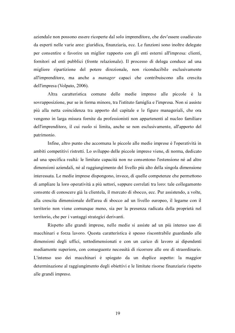 Anteprima della tesi: I finanziamenti bancari alle medie imprese, Pagina 9