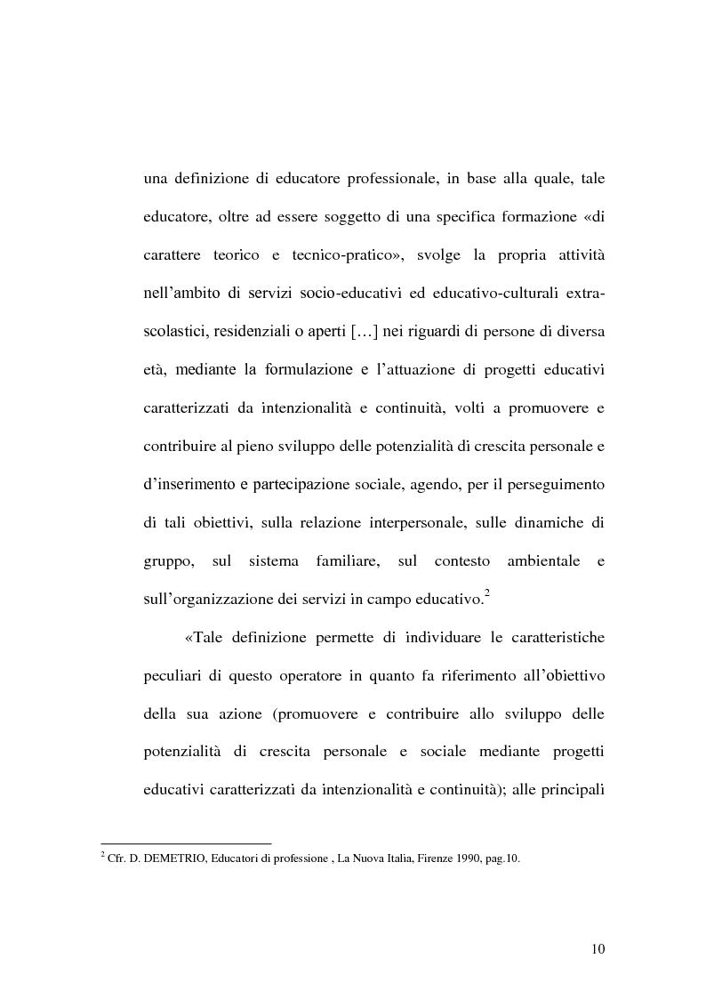 Anteprima della tesi: Incontrare l'Altro nelle professioni educative, Pagina 2