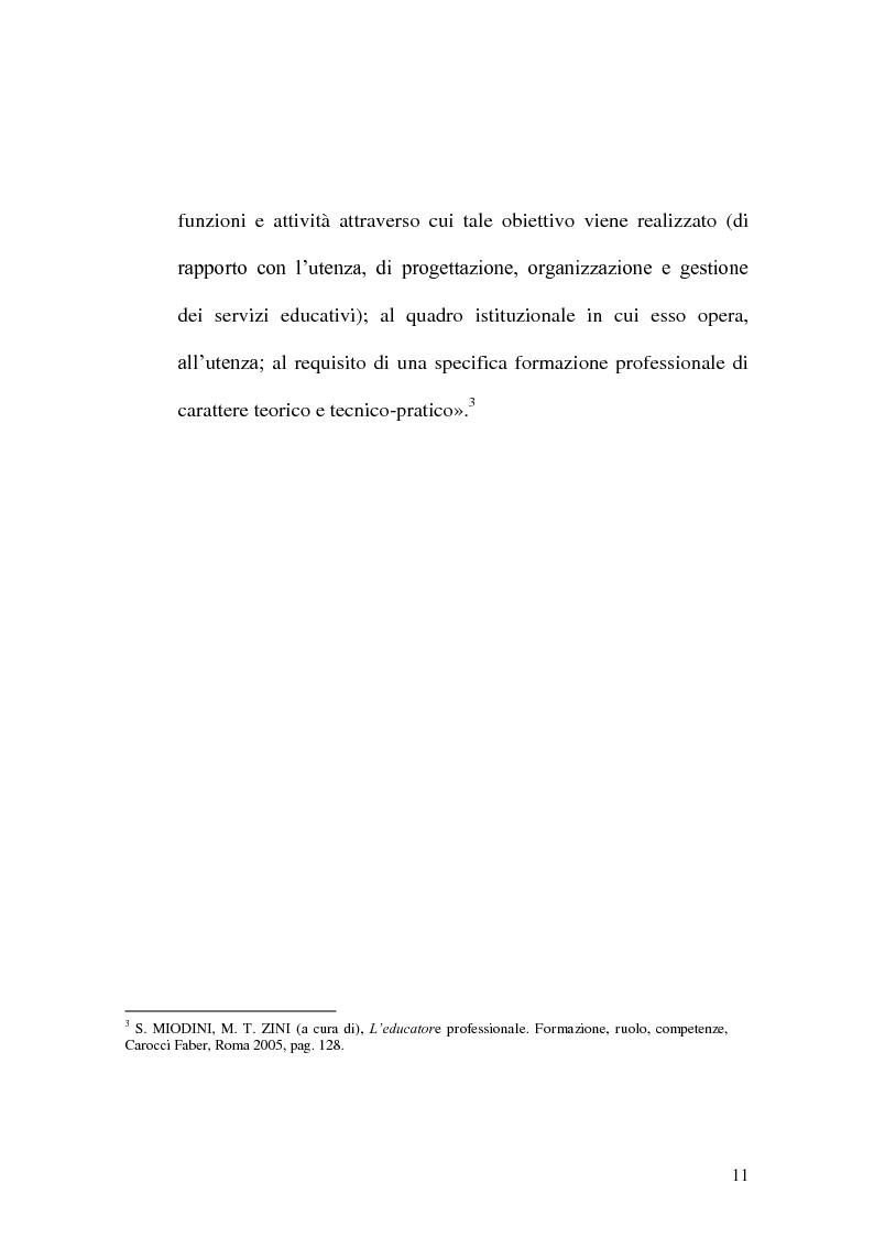 Anteprima della tesi: Incontrare l'Altro nelle professioni educative, Pagina 3