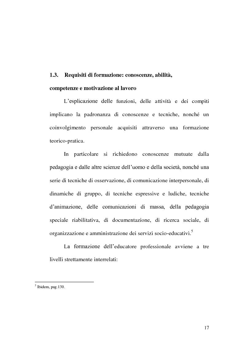 Anteprima della tesi: Incontrare l'Altro nelle professioni educative, Pagina 9