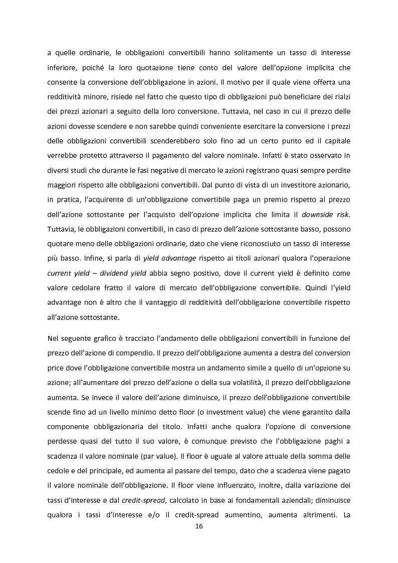 Anteprima della tesi: Le strategie convertible arbitrage attraverso la crisi, Pagina 10