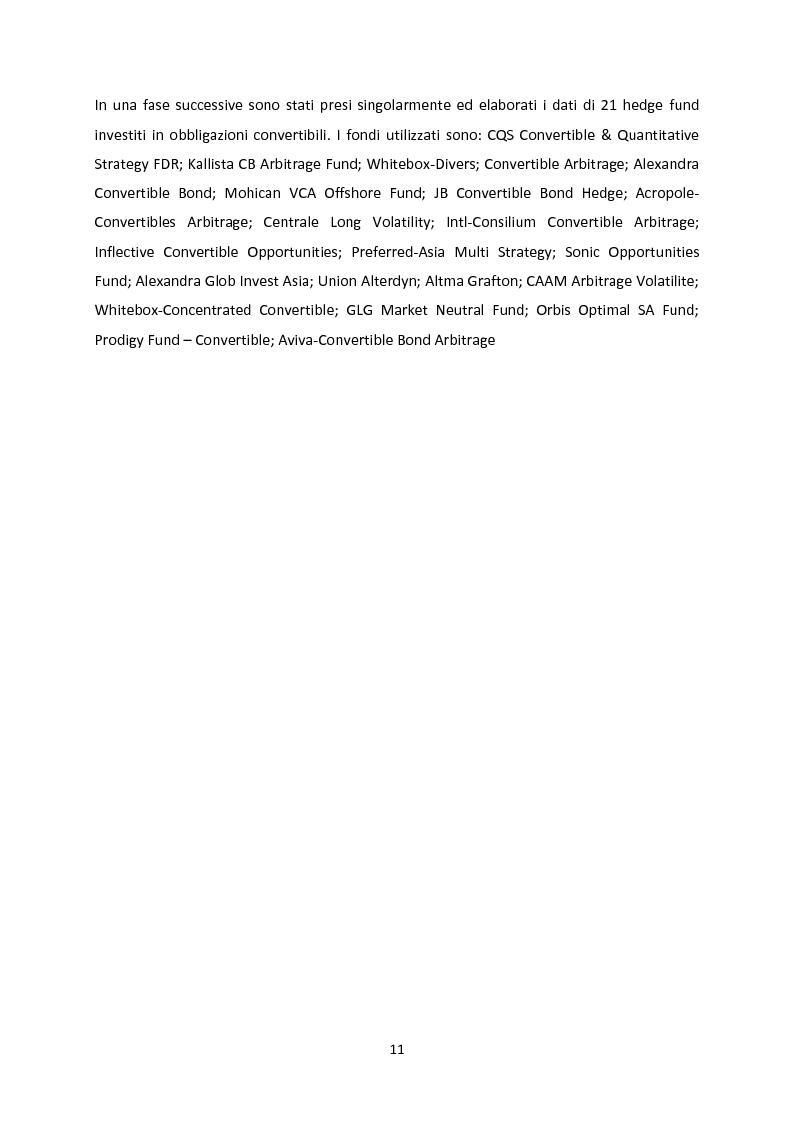 Anteprima della tesi: Le strategie convertible arbitrage attraverso la crisi, Pagina 5