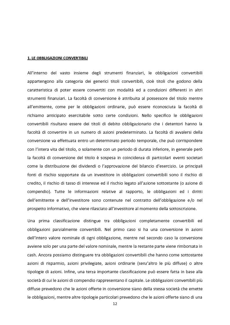 Anteprima della tesi: Le strategie convertible arbitrage attraverso la crisi, Pagina 6