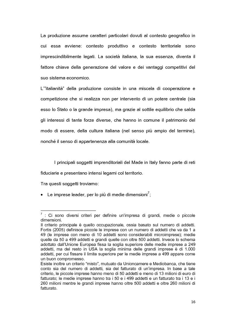 Anteprima della tesi: Il brand 'Made in Italy', Pagina 13