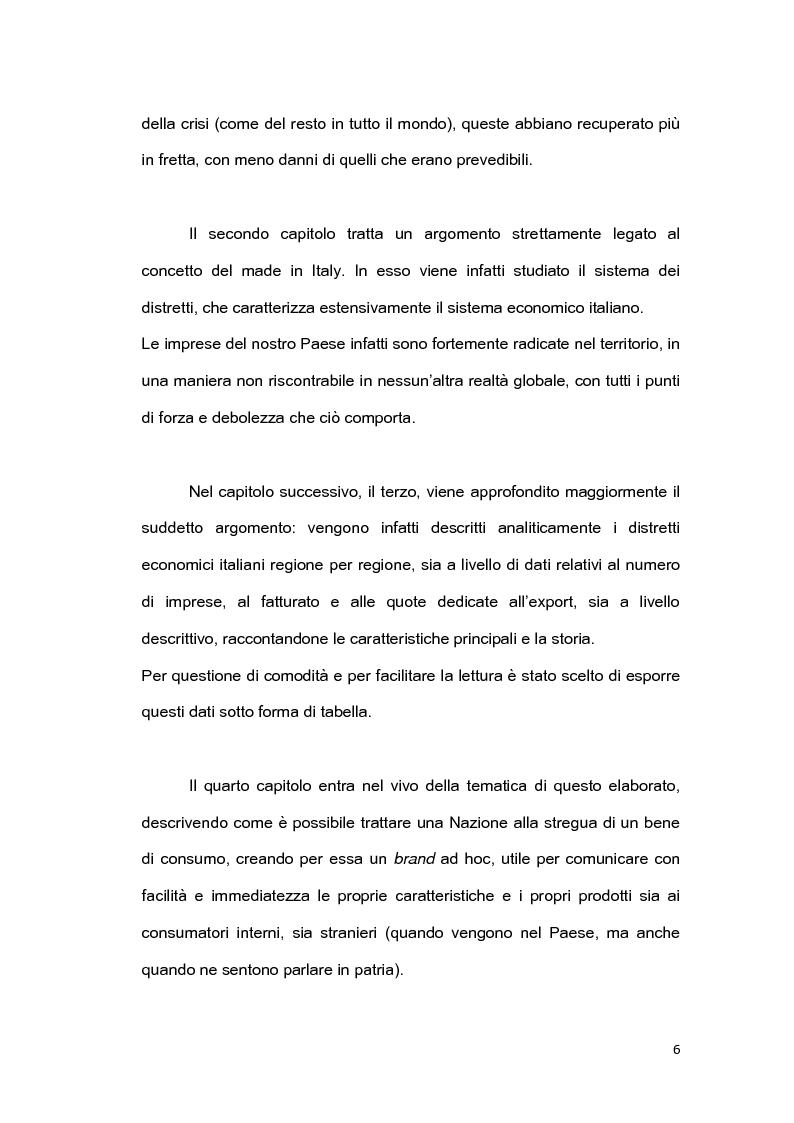 Anteprima della tesi: Il brand 'Made in Italy', Pagina 3