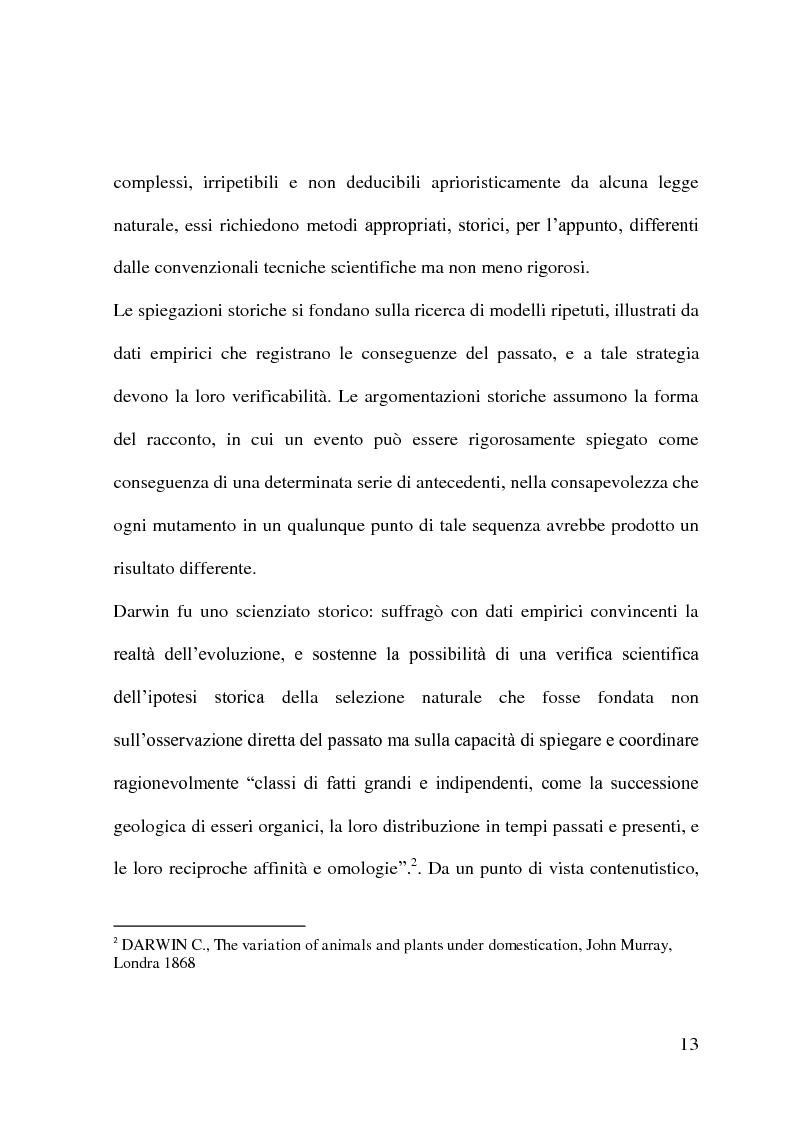 Anteprima della tesi: Evoluzionismo Vs Creazionismo, Pagina 5