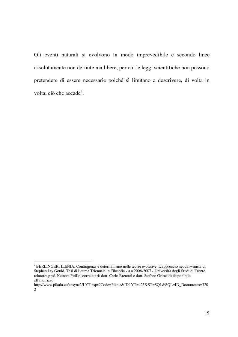Anteprima della tesi: Evoluzionismo Vs Creazionismo, Pagina 7