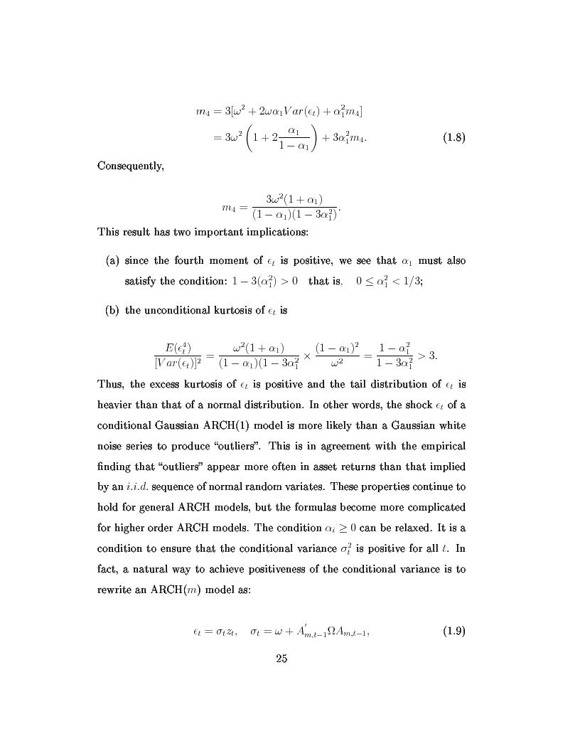 Anteprima della tesi: Dal modello di Black e Scholes ai modelli GARCH: un'analisi delle opzioni sull'indice inglese FTSE 100, Pagina 11