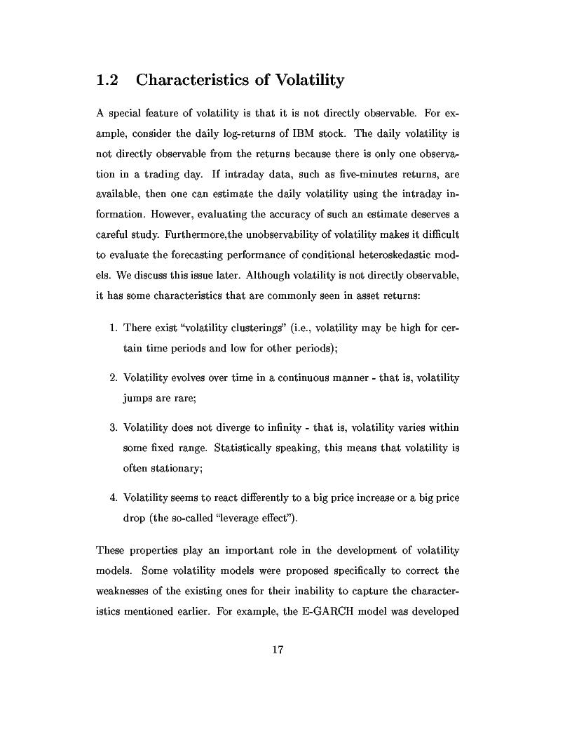 Anteprima della tesi: Dal modello di Black e Scholes ai modelli GARCH: un'analisi delle opzioni sull'indice inglese FTSE 100, Pagina 3