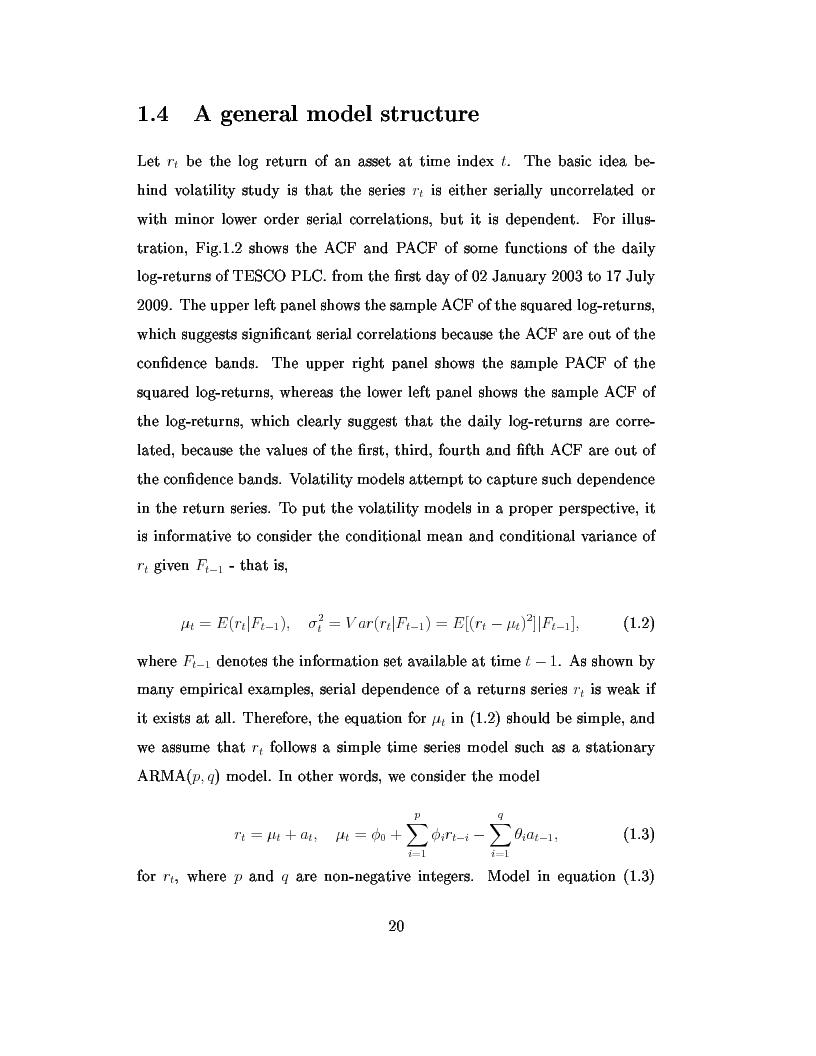 Anteprima della tesi: Dal modello di Black e Scholes ai modelli GARCH: un'analisi delle opzioni sull'indice inglese FTSE 100, Pagina 6