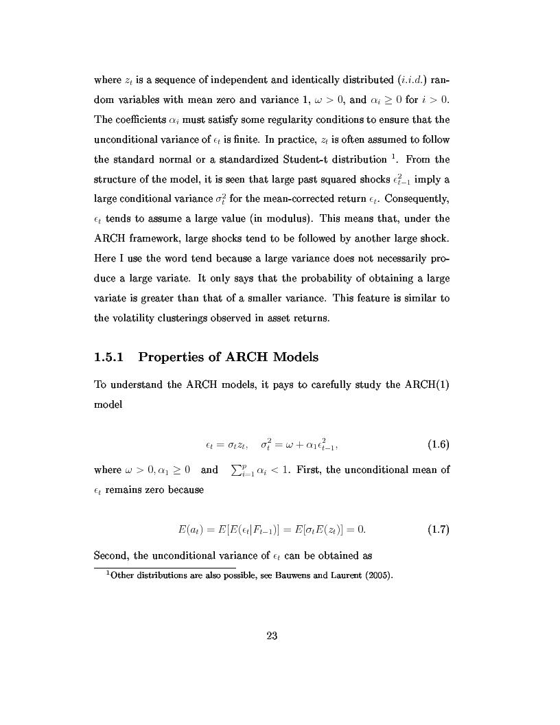 Anteprima della tesi: Dal modello di Black e Scholes ai modelli GARCH: un'analisi delle opzioni sull'indice inglese FTSE 100, Pagina 9