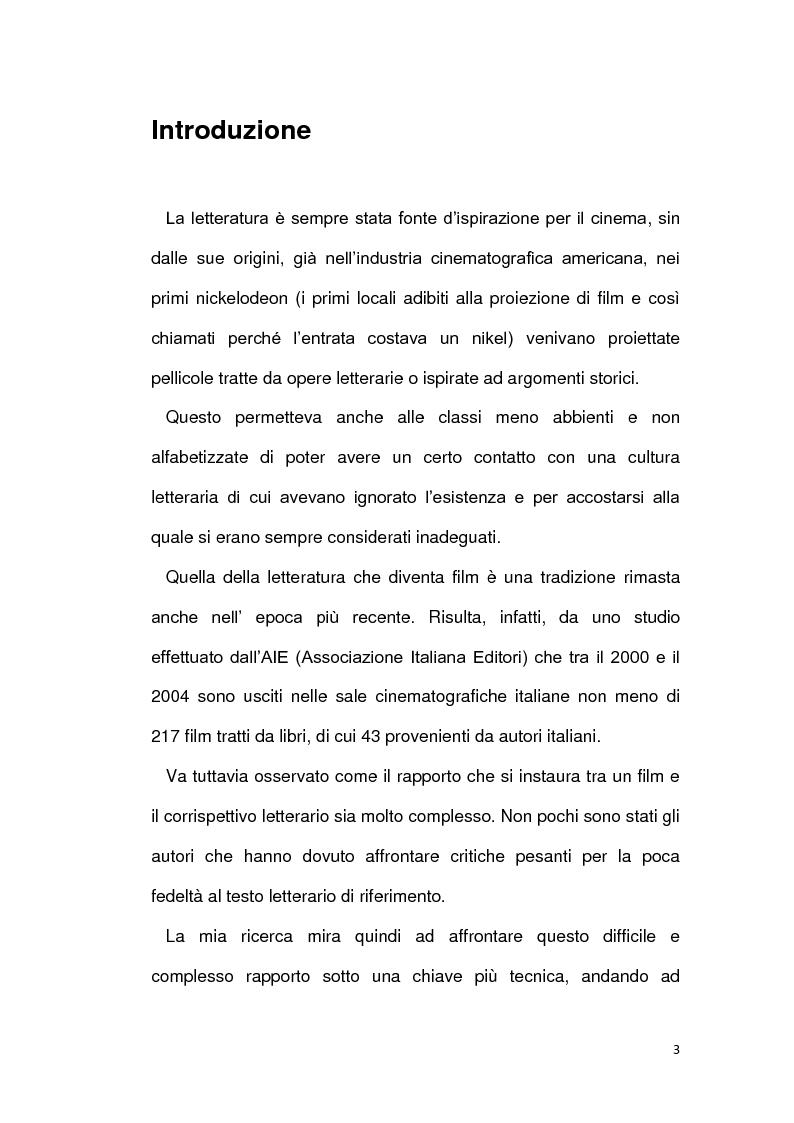 Anteprima della tesi: La letteratura va al cinema: Il Gattopardo e i Vicerè, Pagina 1