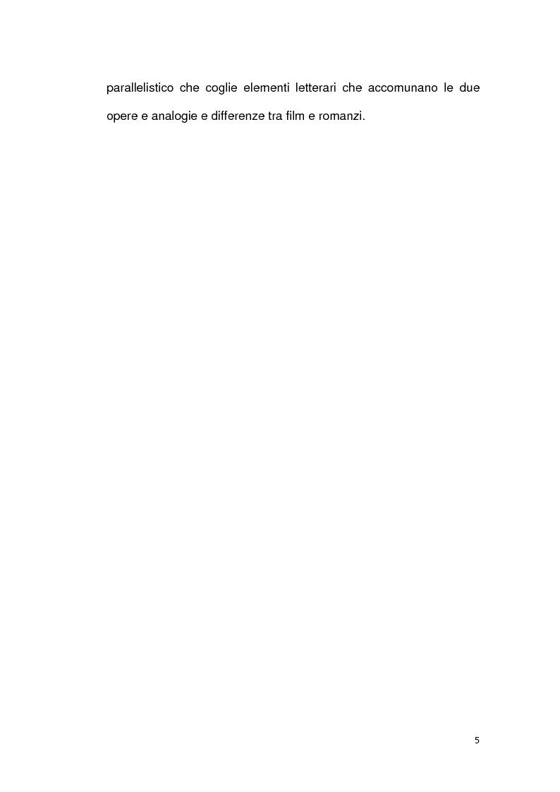 Anteprima della tesi: La letteratura va al cinema: Il Gattopardo e i Vicerè, Pagina 3