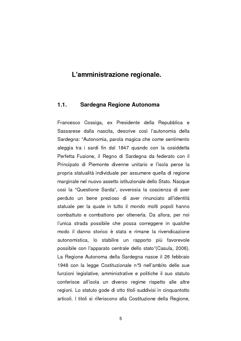Anteprima della tesi: Regionali in Sardegna 2009: il diverso modo di propagandare dei vari partiti, Pagina 3
