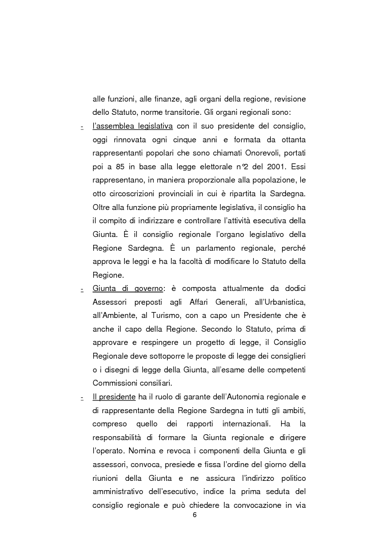 Anteprima della tesi: Regionali in Sardegna 2009: il diverso modo di propagandare dei vari partiti, Pagina 4