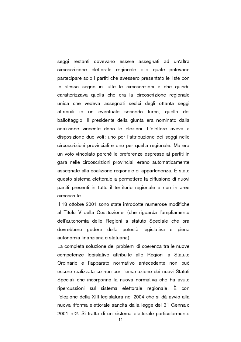 Anteprima della tesi: Regionali in Sardegna 2009: il diverso modo di propagandare dei vari partiti, Pagina 9