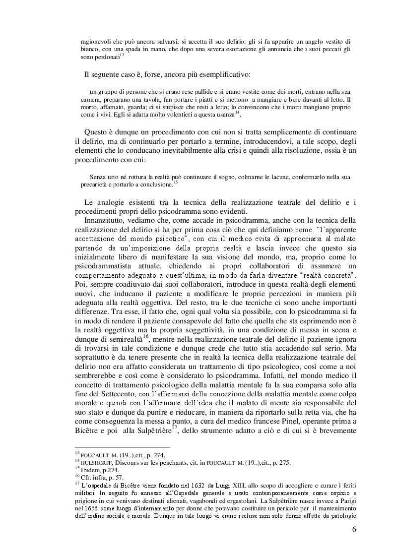 Anteprima della tesi: Lo psicodramma classico: esercizio di creatività e di incontro con l'altro per la crescita personale, Pagina 6
