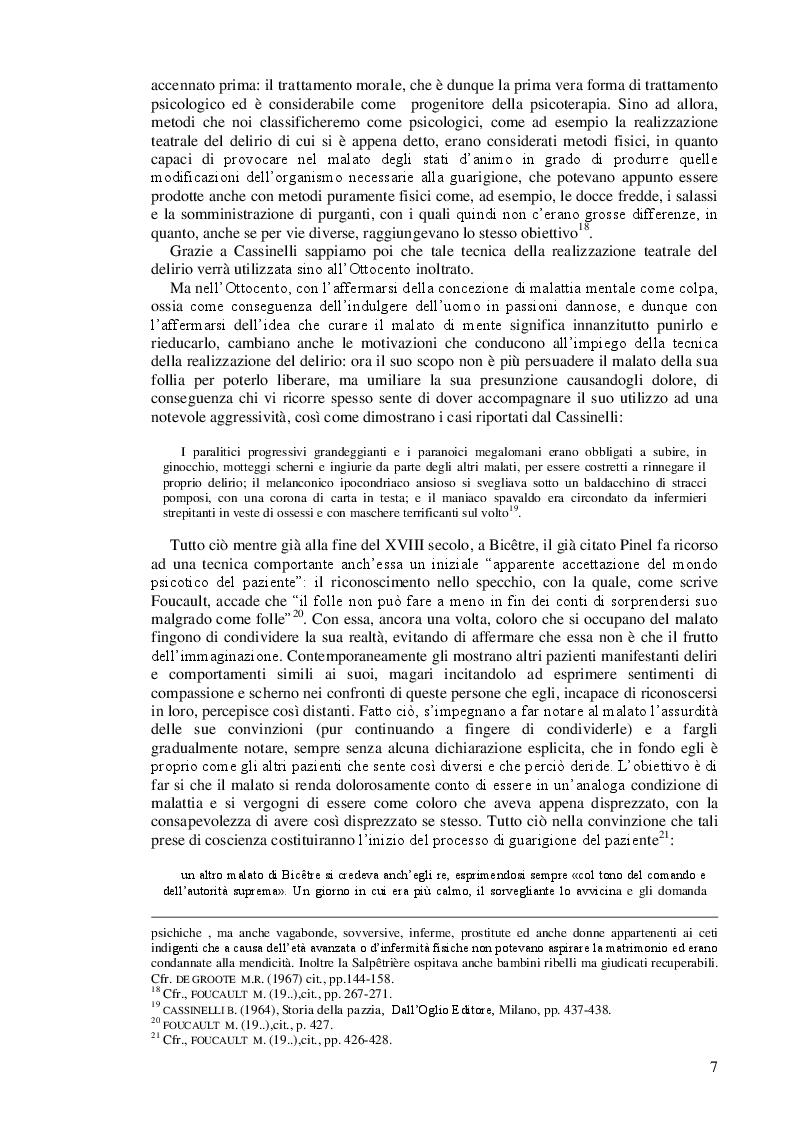 Anteprima della tesi: Lo psicodramma classico: esercizio di creatività e di incontro con l'altro per la crescita personale, Pagina 7