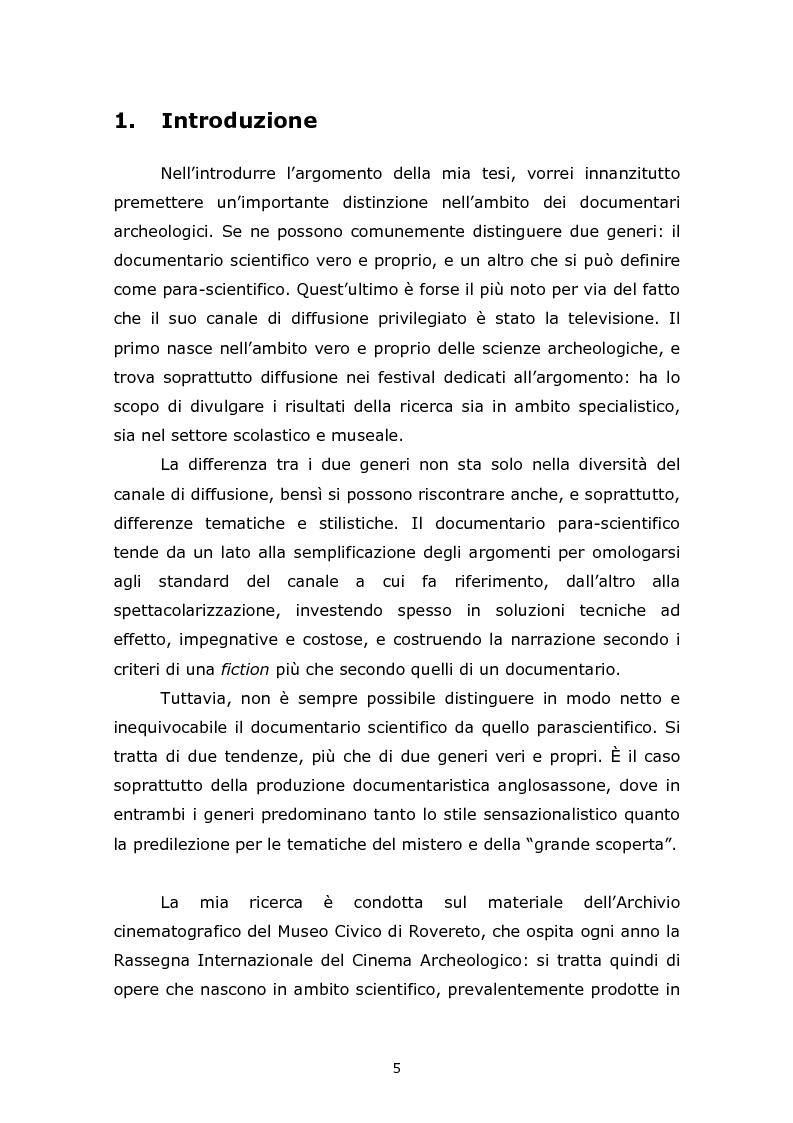Anteprima della tesi: Comunicare l'Egitto Antico: tendenze recenti nella produzione documentaristica europea e statunitense, Pagina 1