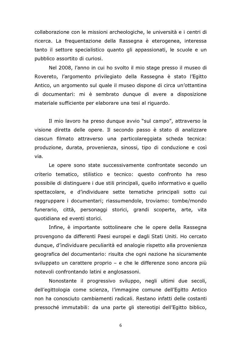 Anteprima della tesi: Comunicare l'Egitto Antico: tendenze recenti nella produzione documentaristica europea e statunitense, Pagina 2