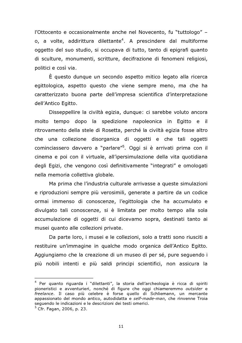 Anteprima della tesi: Comunicare l'Egitto Antico: tendenze recenti nella produzione documentaristica europea e statunitense, Pagina 7