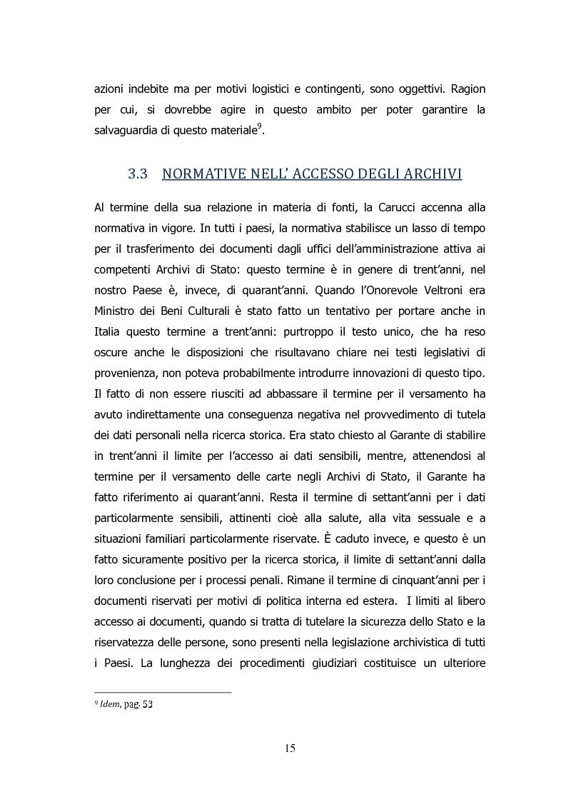 Anteprima della tesi: Analisi storico-sociologica-giornalistica delle stragi e dei disastri (i casi italiani del 1980: Ustica, Bologna, Irpinia), Pagina 15