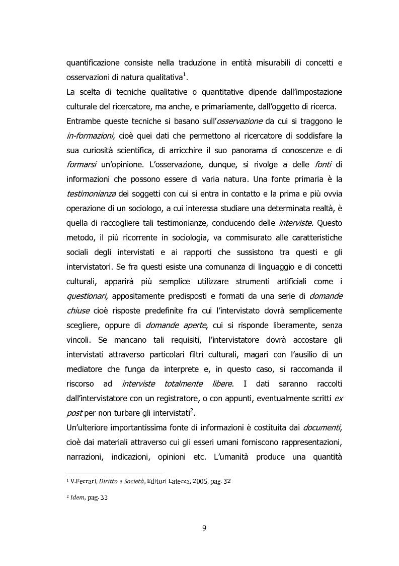 Anteprima della tesi: Analisi storico-sociologica-giornalistica delle stragi e dei disastri (i casi italiani del 1980: Ustica, Bologna, Irpinia), Pagina 9
