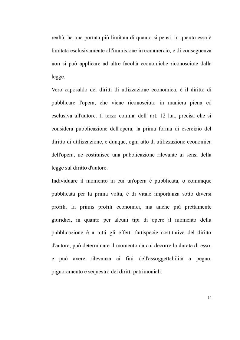 Anteprima della tesi: La tutela delle opere fotografiche, Pagina 13