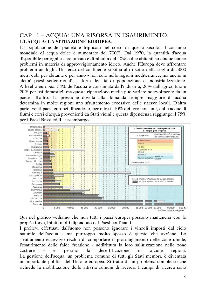 Anteprima della tesi: Impianti di depurazione di acque reflue urbane di tipo biologico: modifiche ed ottimizzazioni apportabili, Pagina 1