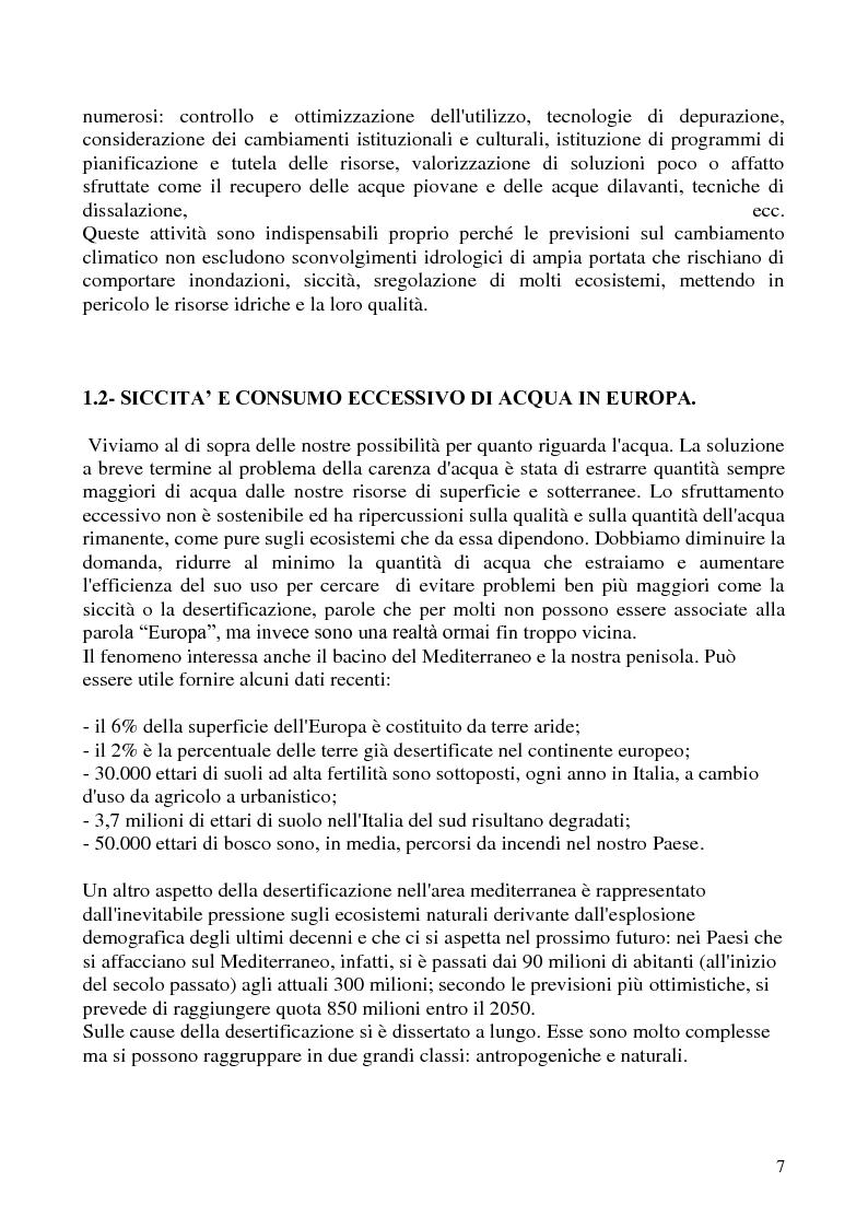 Anteprima della tesi: Impianti di depurazione di acque reflue urbane di tipo biologico: modifiche ed ottimizzazioni apportabili, Pagina 2