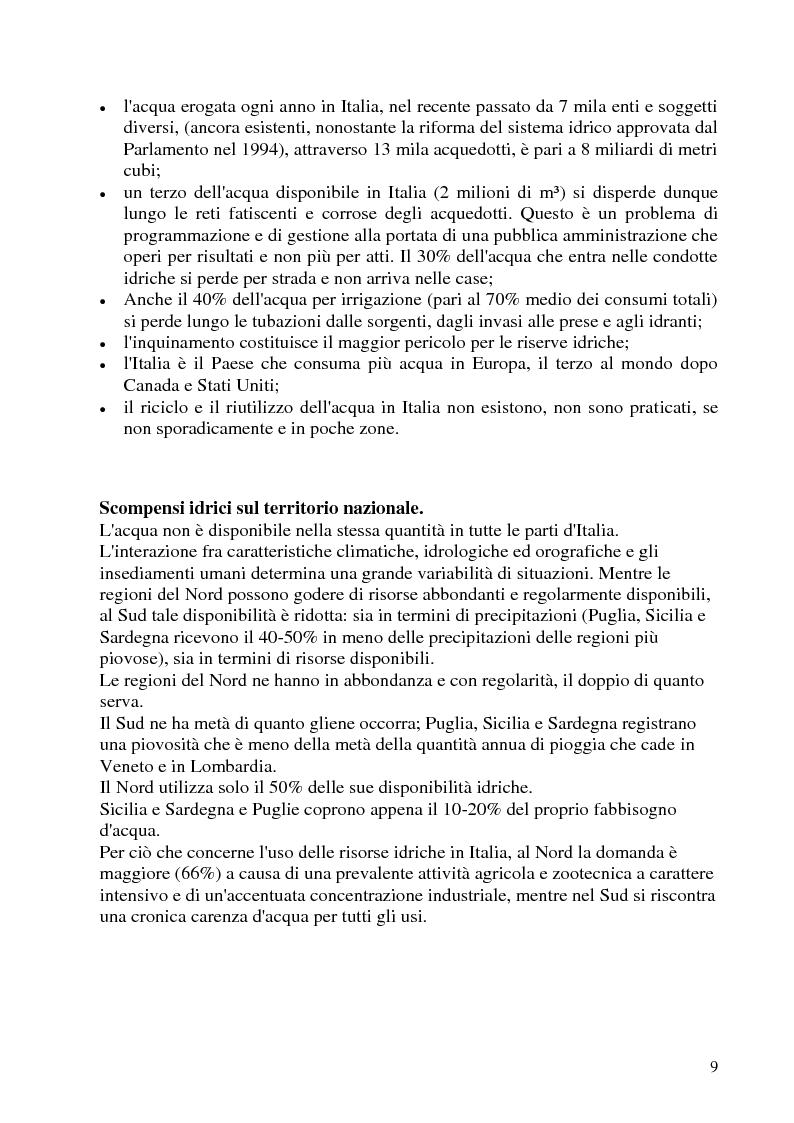 Anteprima della tesi: Impianti di depurazione di acque reflue urbane di tipo biologico: modifiche ed ottimizzazioni apportabili, Pagina 4