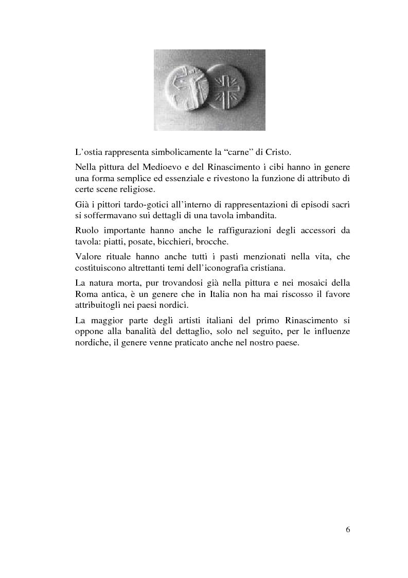 Anteprima della tesi: Il cibo nell'arte, proposta di mostra ''Mangia la Mela'', Pagina 4